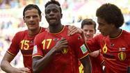 Belgium advances in World Cup after beating Russia, 1-0, in Group H