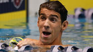 Michael Phelps' return to the pool [Pictures]