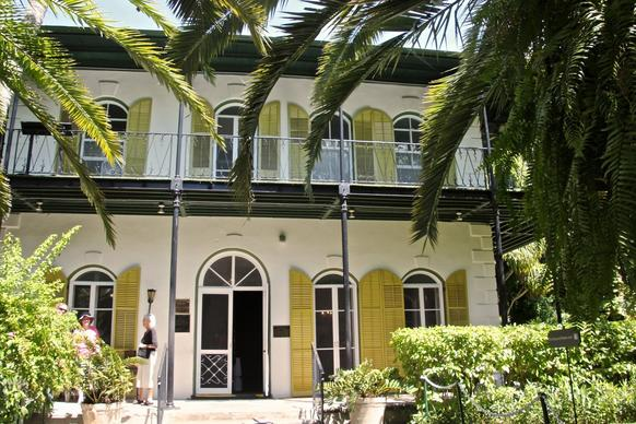 Ernest Hemingway's home in Key West, Fla., is now open to the public for tours.