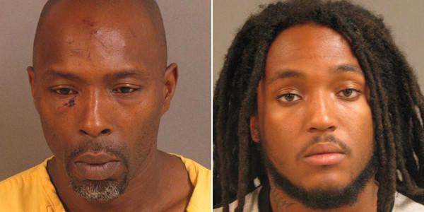 Harold B. Clark (left) and Ricky L. Reid have been charged in connection with a shooting in Randallstown.