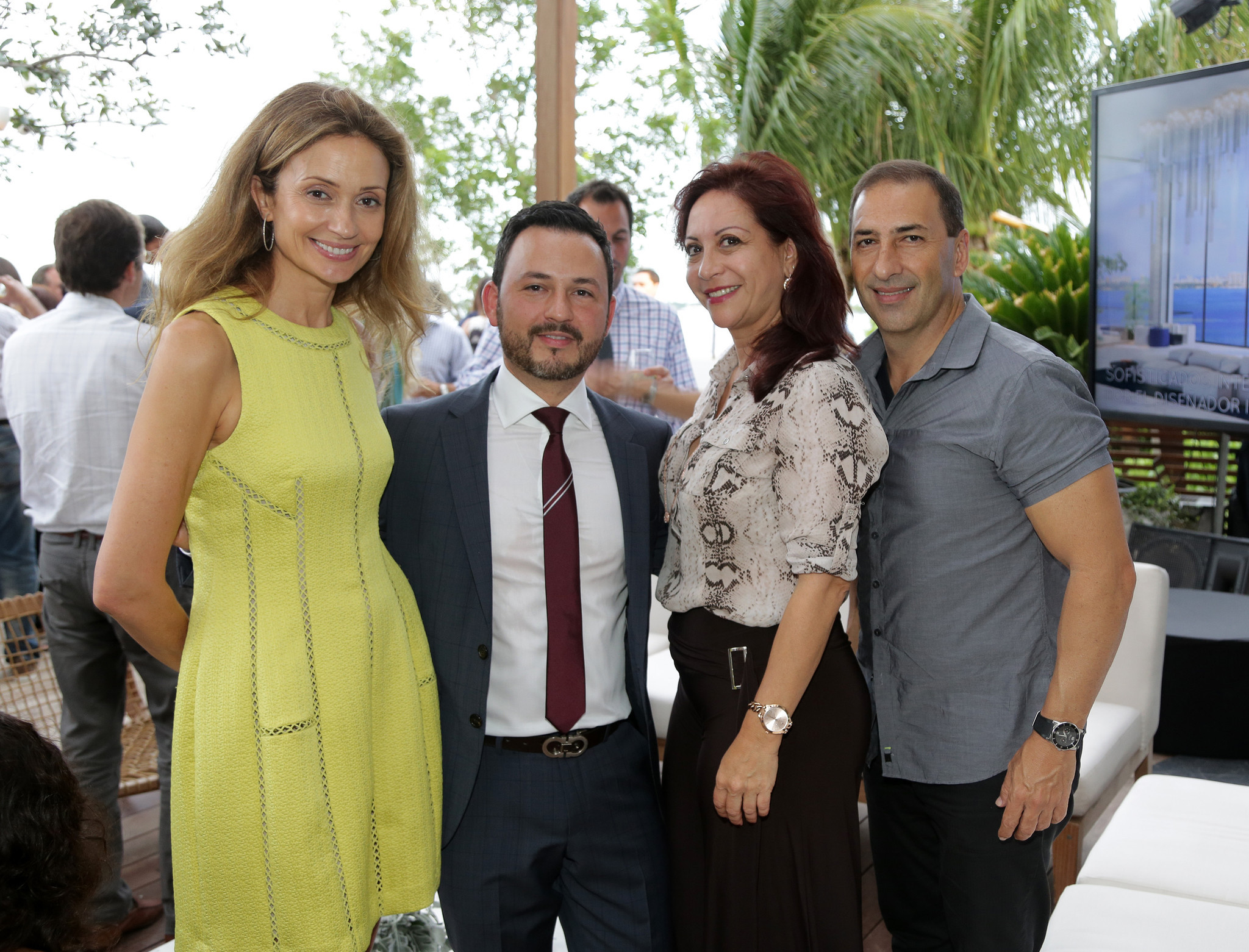 Society Scene photos - Opening of ONE Paraiso by Piero Lissoni in East Edgewater in Miami on June 18