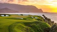Hawaii: On Kauai, you can head off into the sunset on golf cart tour