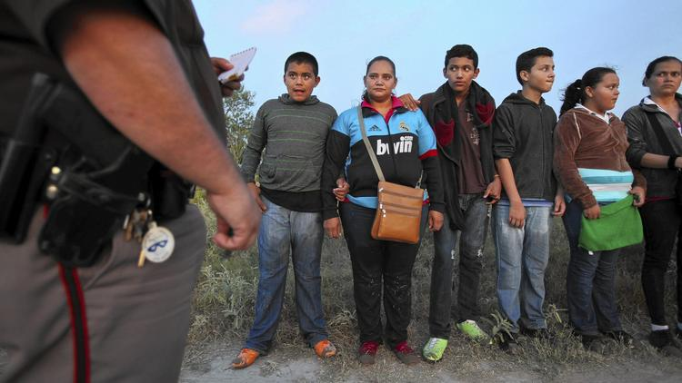 Kids apprehended at border