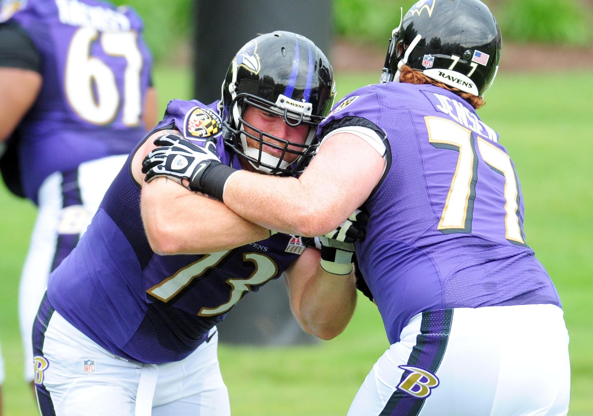 Ravens Pro Bowl guard Marshal Yanda back to full strength