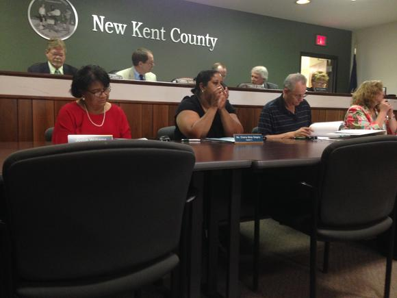 The New Kent Board of Supervisors and Planning Commission held a joint meeting on June 23 about the stormwater management program.