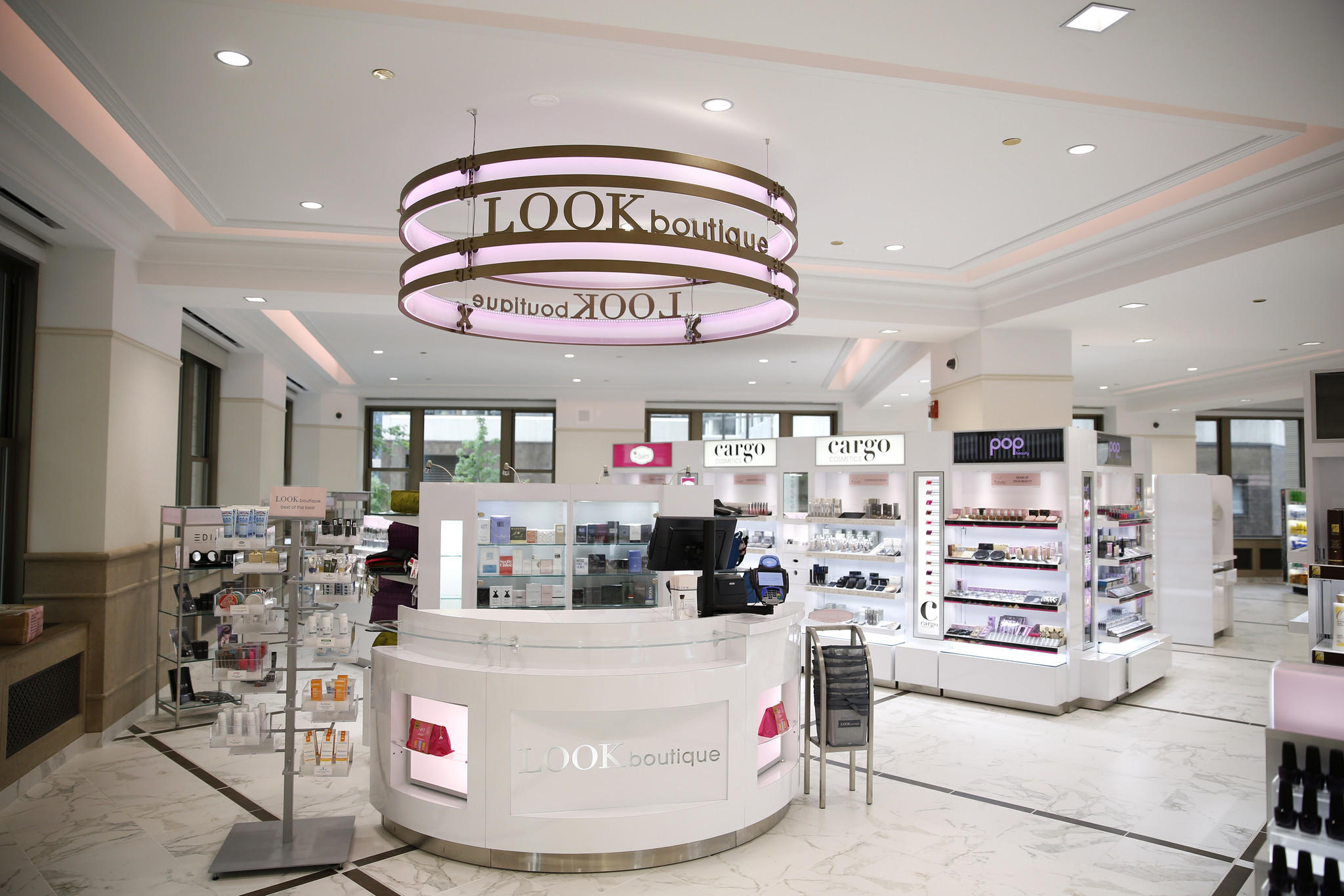The Look Boutique area at a new Walgreens on the 400 block of North Michigan Avenue in Chicago on Tuesday, June 24, 2014. Walgreen Co. will be opening the 30,000-square-foot, two-level store will open tomorrow, Wednesday morning.