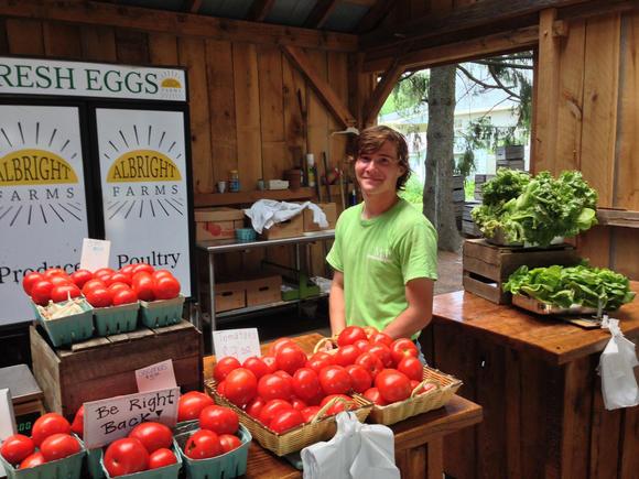 Jesse Albright of Albright Farms.