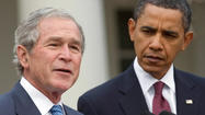 Obama's not to blame for the Bush administration's blunders [Letter]