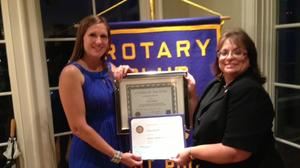 Hayden named West Point Rotary Citizen of the Year