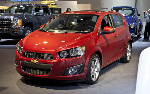 gm recalling some 2012 chevy sonic over transmission shaft. Black Bedroom Furniture Sets. Home Design Ideas