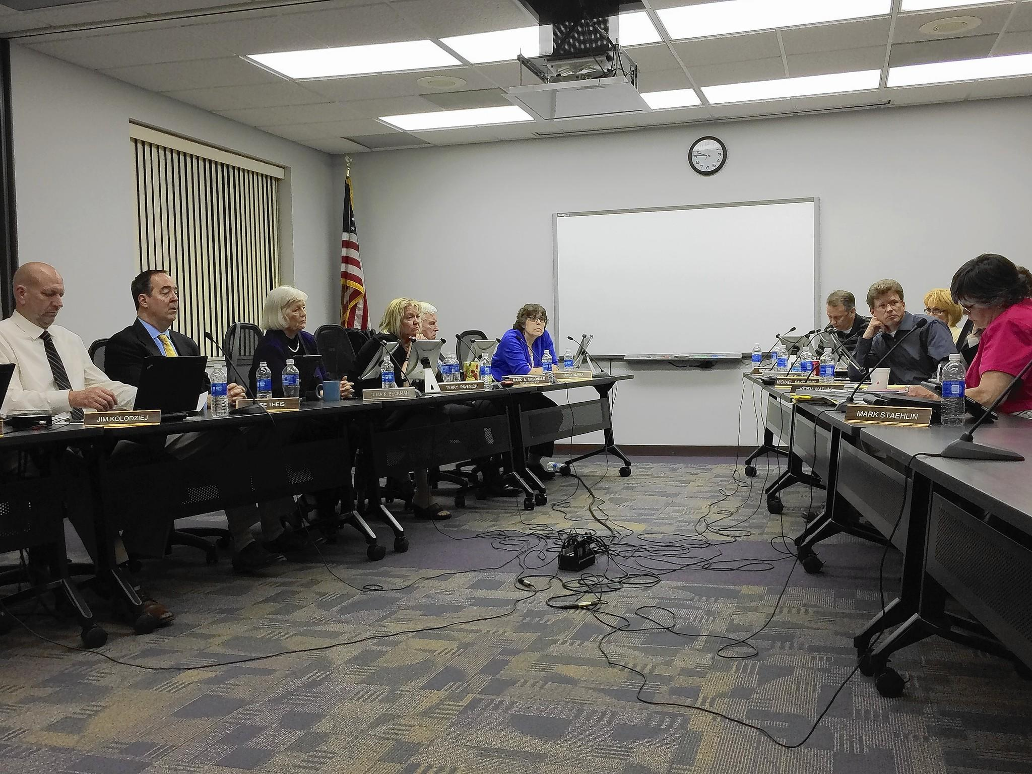 Downers Grove's District 99 school board approved raises for more than 200 members of the support staff.