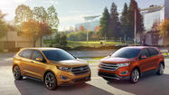 Ford debuts redesigned 2015 Edge crossover SUV