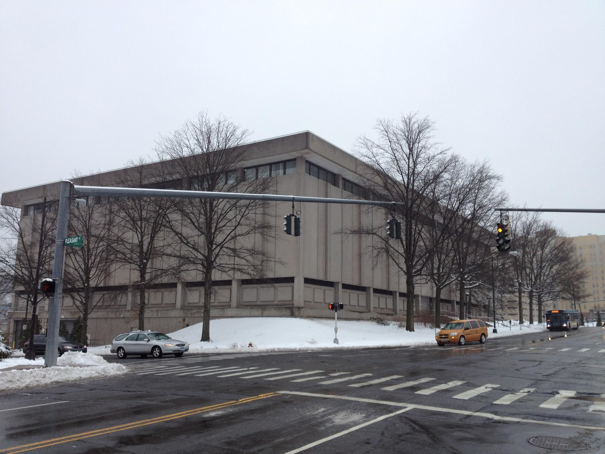The building at 150 Windsor St. in Hartford that formerly held a Bank of America processing center has been sold.