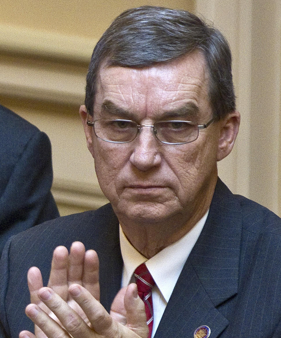 Virginia state Sen. Phil Puckett, a Democrat, resigned in June 2014, giving Republicans control of the Senate.