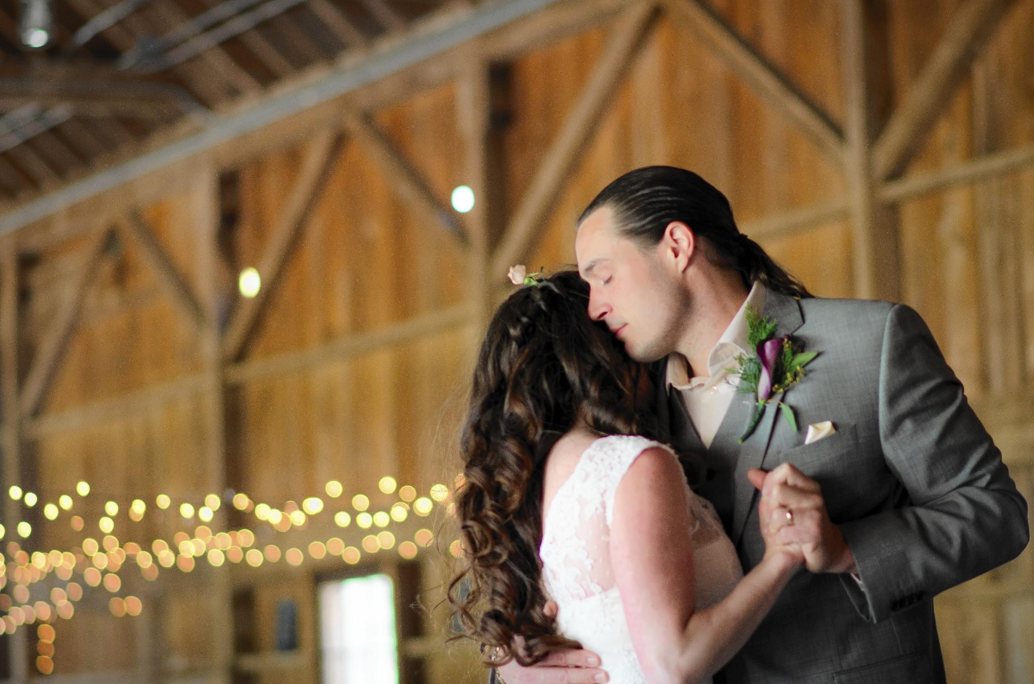Casey Schachter and Brian Bowen met at the Tiki Bar on Solomons Island in Southern Maryland.