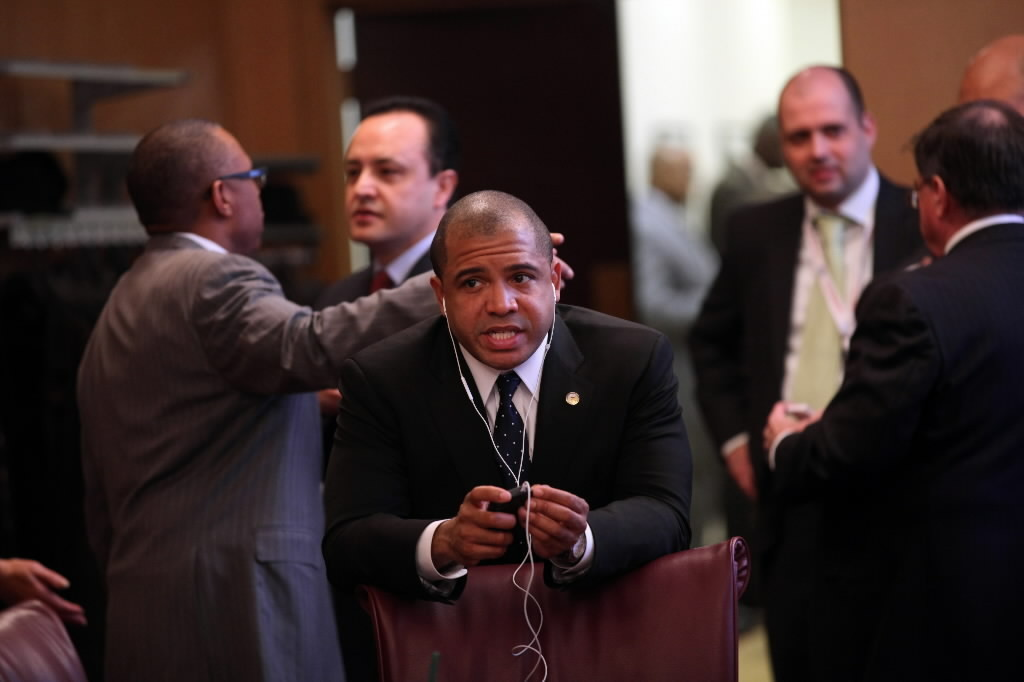 Ald. Will Burns, seen here last year, was the subject of protests at a City Council meeting today over the fate of a Bronzeville high school.