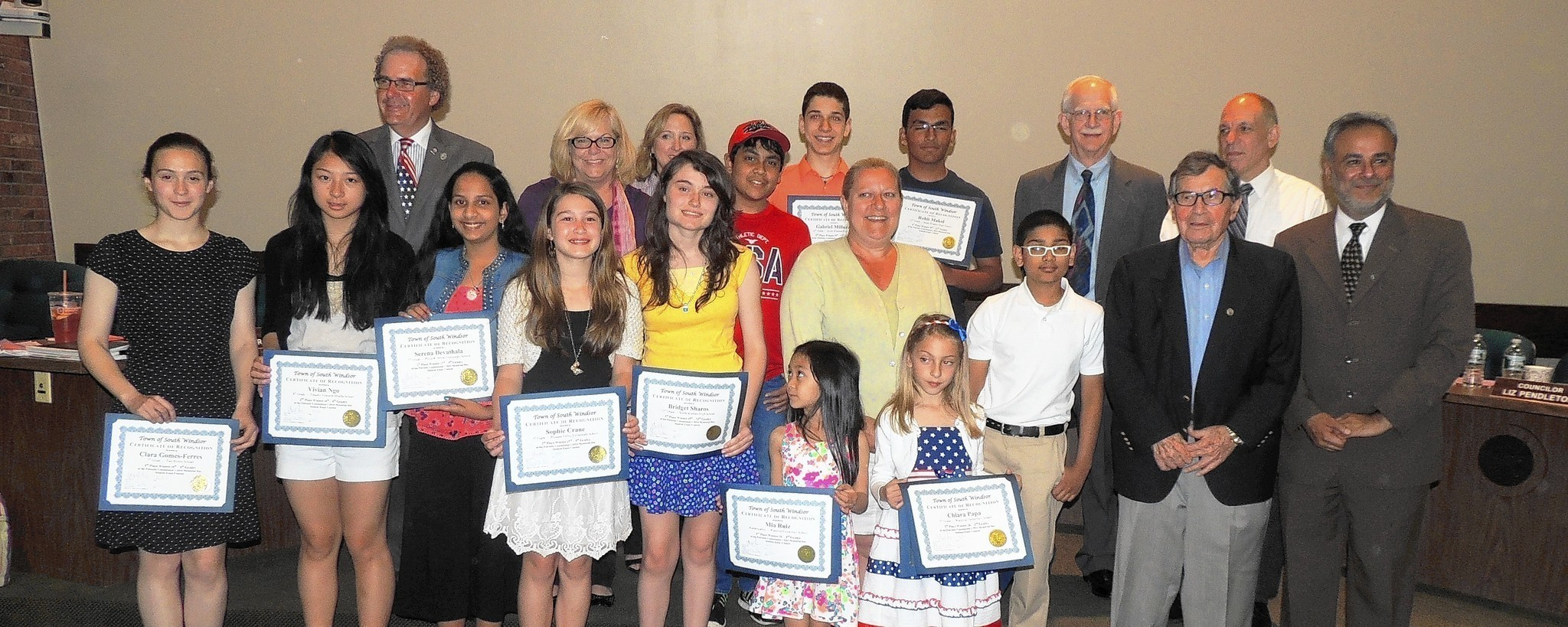 South Windsor Patriotic Commission Announces Winners Of Memorial Day  South Windsor Patriotic Commission Announces Winners Of Memorial Day  Student Essay Contest  Courant Community