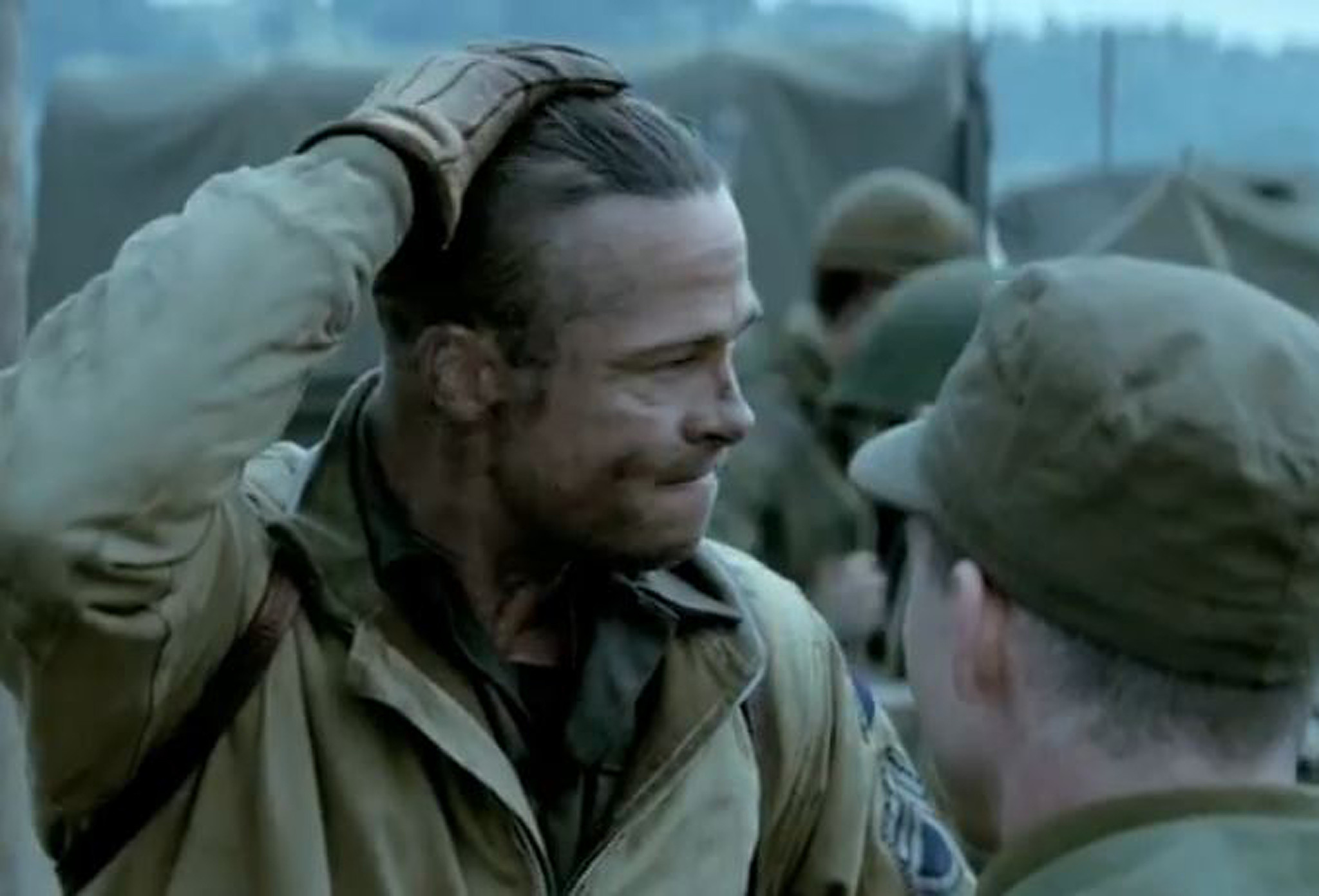 Fury Trailer Brad Pitt Leads Brothers In Arms In WWII Tank Movie - New official trailer fury starring brad pitt