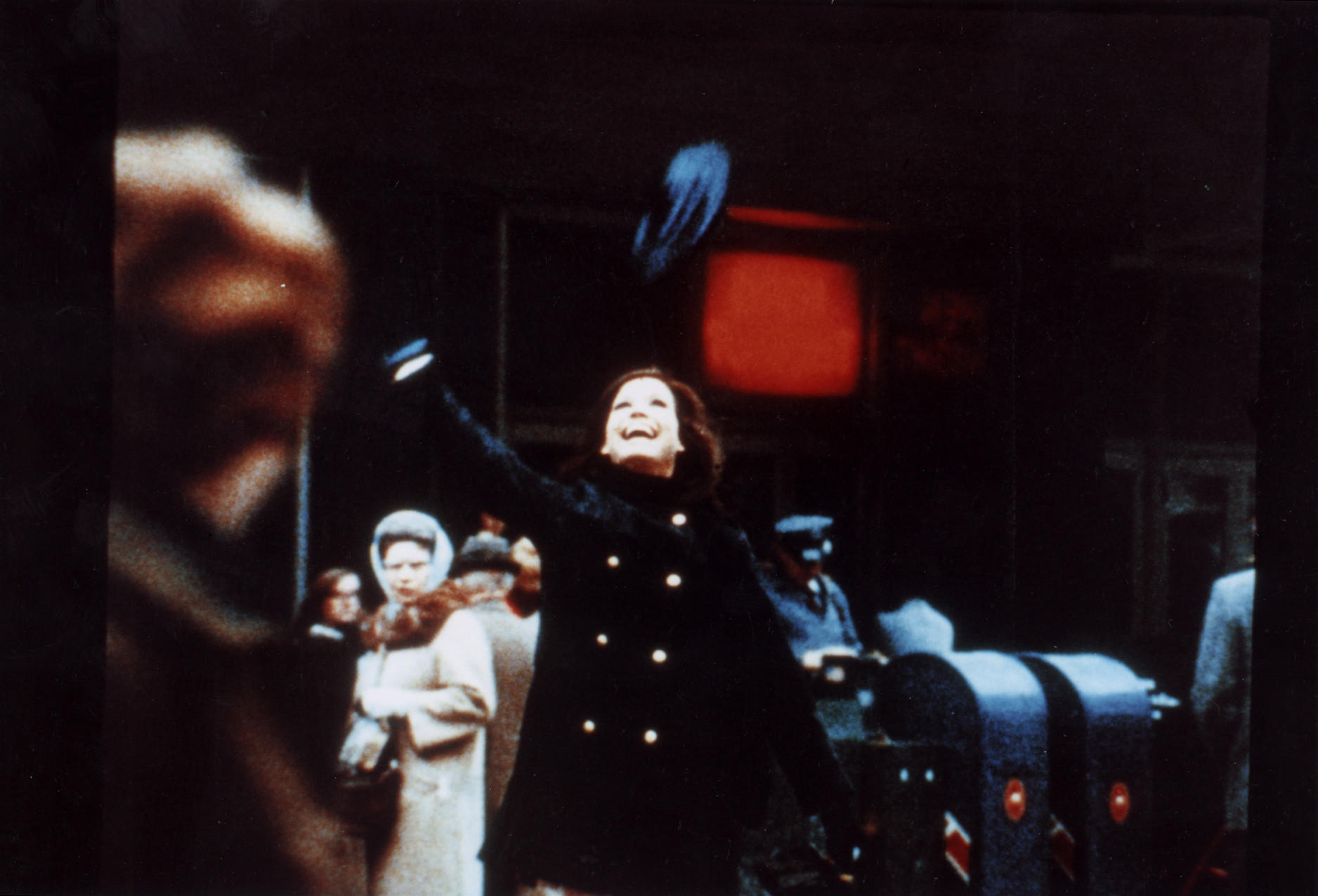 "Mary Tyler Moore, as Mary Richards, throws her hat into the air at the end of the opening of ""The Mary Tyler Moore Show."""