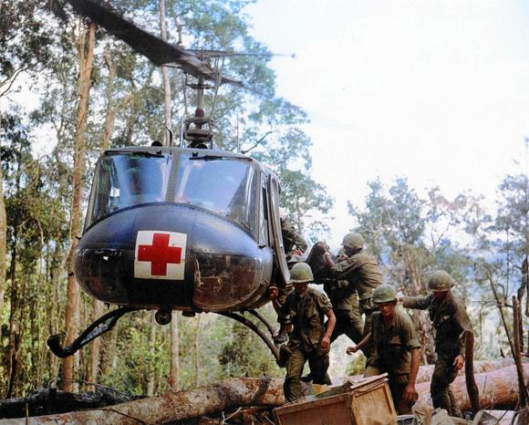 Assault on Hill 875, Vietnam, November 1967