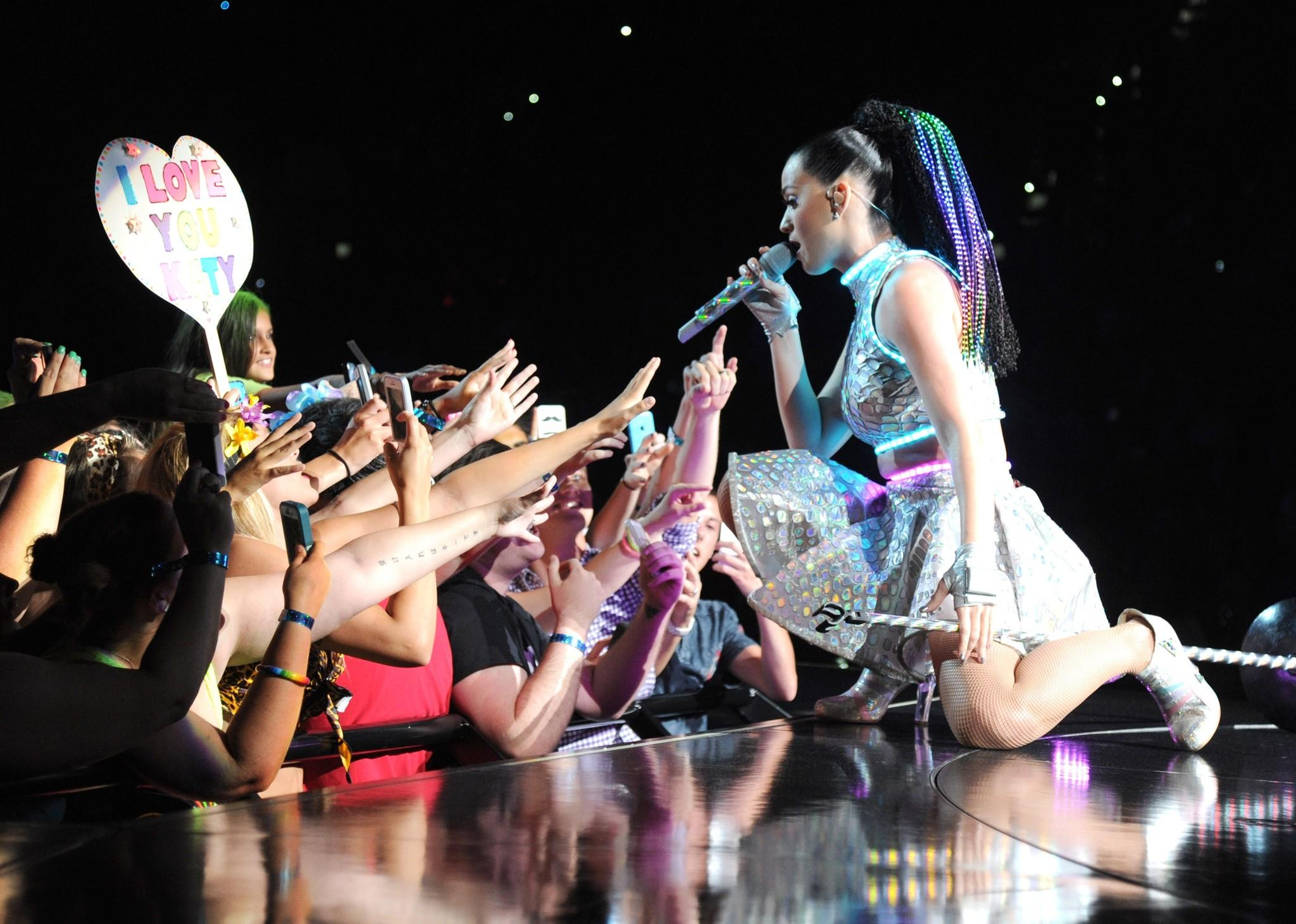 Katy Perry performs onstage at PNC Arena on June 22 in Raleigh, N.C.