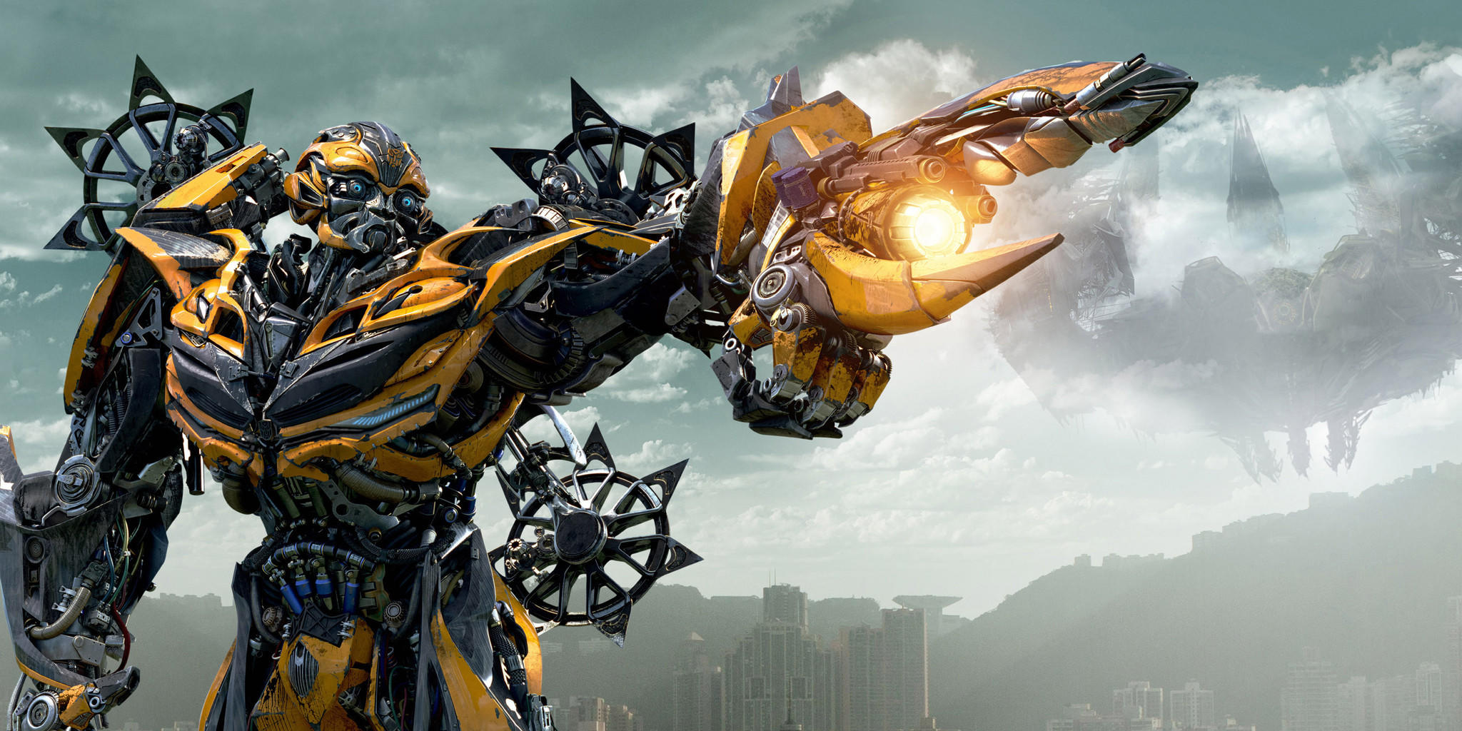 """Bumblebee in """"Transformers: Age of Extinction."""""""
