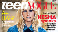 Kesha polishes look for Teen Vogue; now she'll 'try to be pretty'