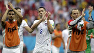 U.S. soccer team advances at World Cup, loses to Germany, 1-0