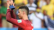 Cristiano Ronaldo helps U.S. in Portugal's 2-1 win over Ghana