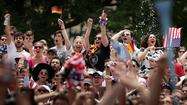 Pictures: Fan Reactions during U.S. vs. Germany
