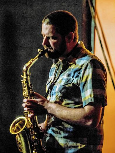Saxophonist Dave Rempis