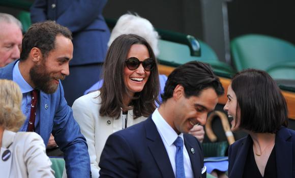 Pippa Middleton and Michelle Dockery