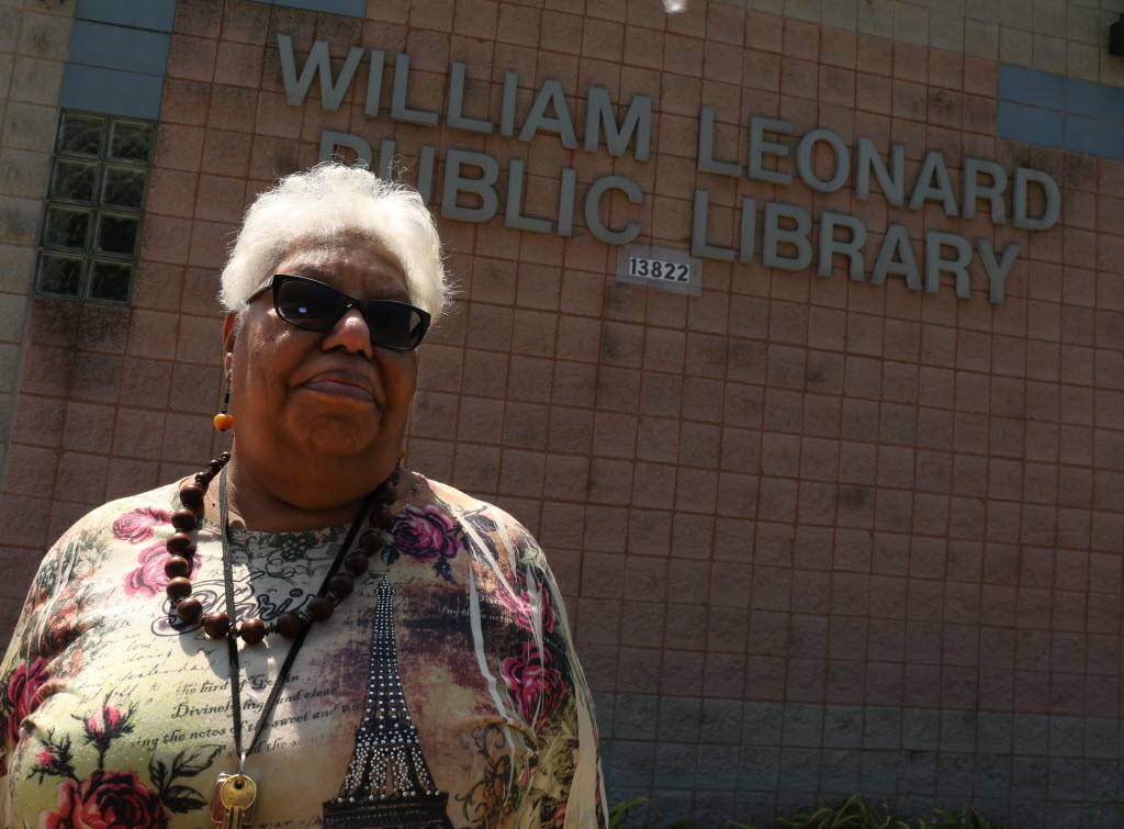 Robbins Public Library Director Priscilla Coatney discusses the fact that the will have to close the William Leonard Public Library for the summer as a result of funding problems.