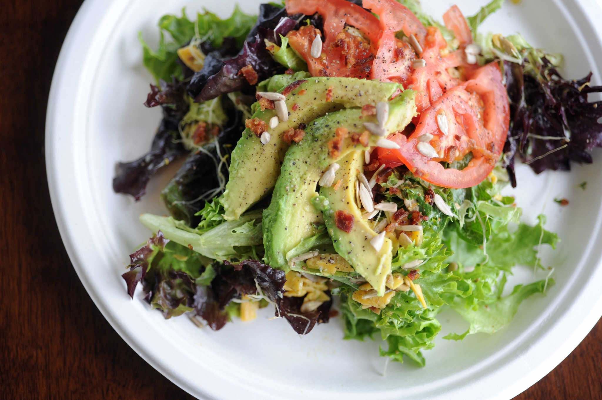 Chef and co-owner Michael White of Fox & Fern Cafe in Forest Hill created this West Coast-inspired salad.