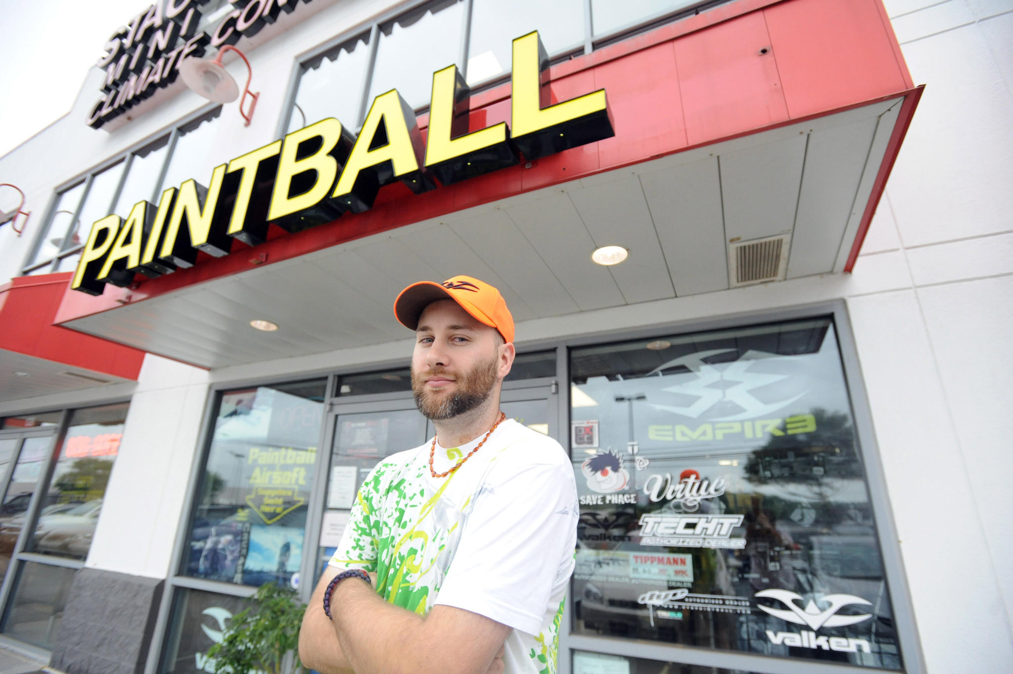 Richard Shepler, owner of Pandemic Outfitters in Bel Air, turned his paintball hobby into a full-time business.