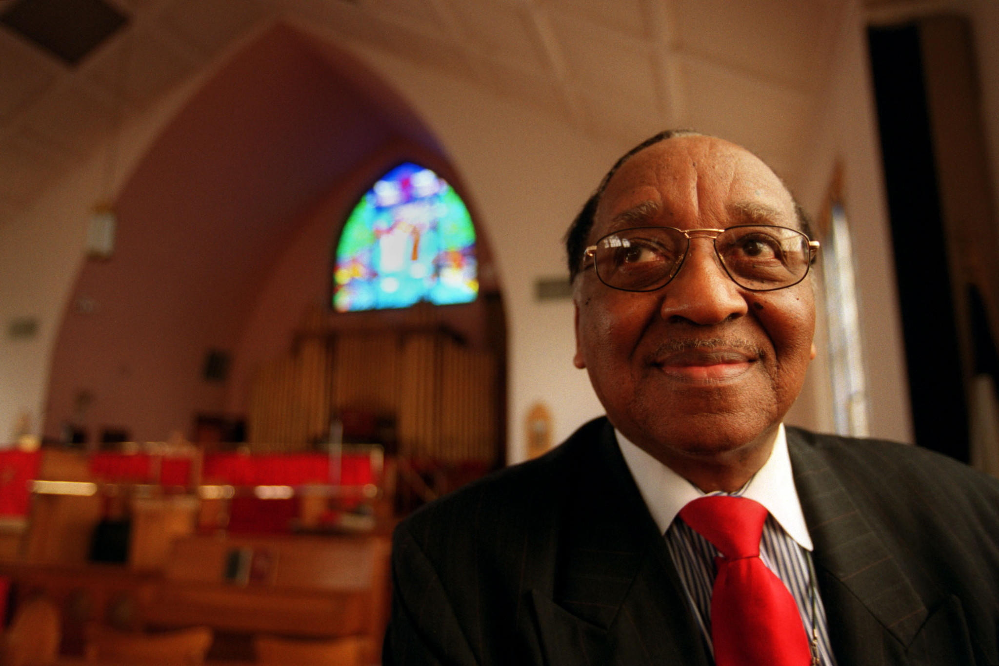 The Rev. Dr. King T. Hayes of the Shiloh Baptist Church in Hartford s north end.