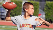 Photo Gallery: St. Francis Football Camp offers taste of sport for middle school athletes