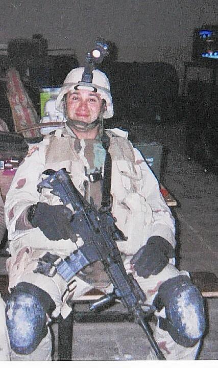 Staff Sgt. Michael Sutter, who was killed in Iraq in 2003.