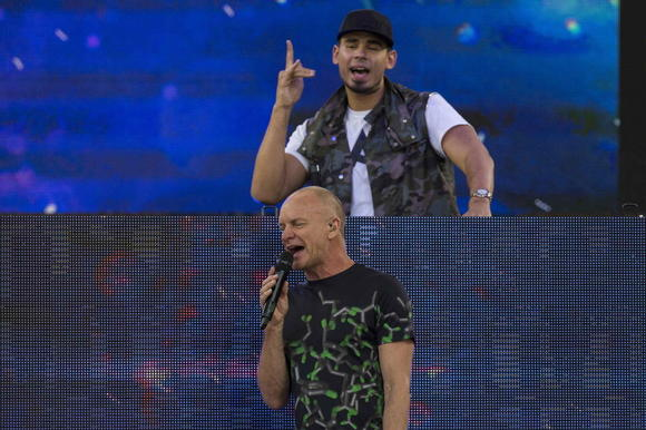 Afrojack and Sting