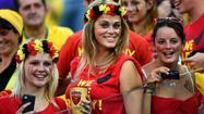 Pictures: Beauties of the World Cup