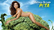 Pictures: Celebs pose for PETA ads
