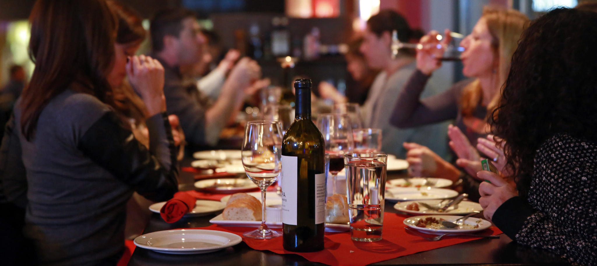 Restaurant owner Bobby Arifi said he uncorks 60 to 80 BYOB bottles a week