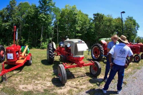 Talking tractors.