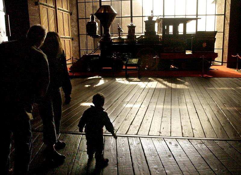California State Railroad Museum, Sacramento. (Myung J. Chun / Los Angeles Times)