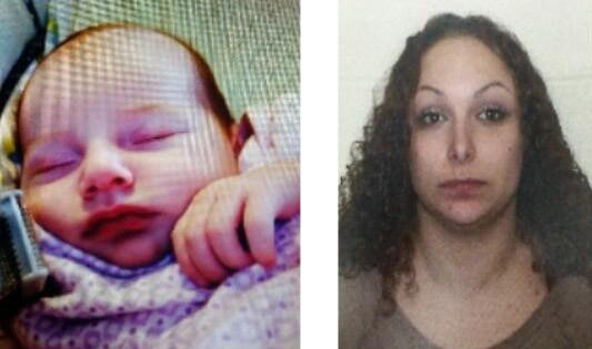 Shiloh Gilbert-Alfar (L) is believed to be with her mother, Amirah Alfar (R).