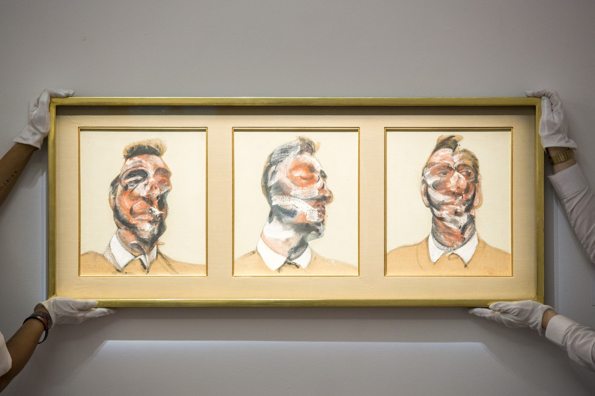 Francis Bacon Triptych Sells At Auction For More Than 45