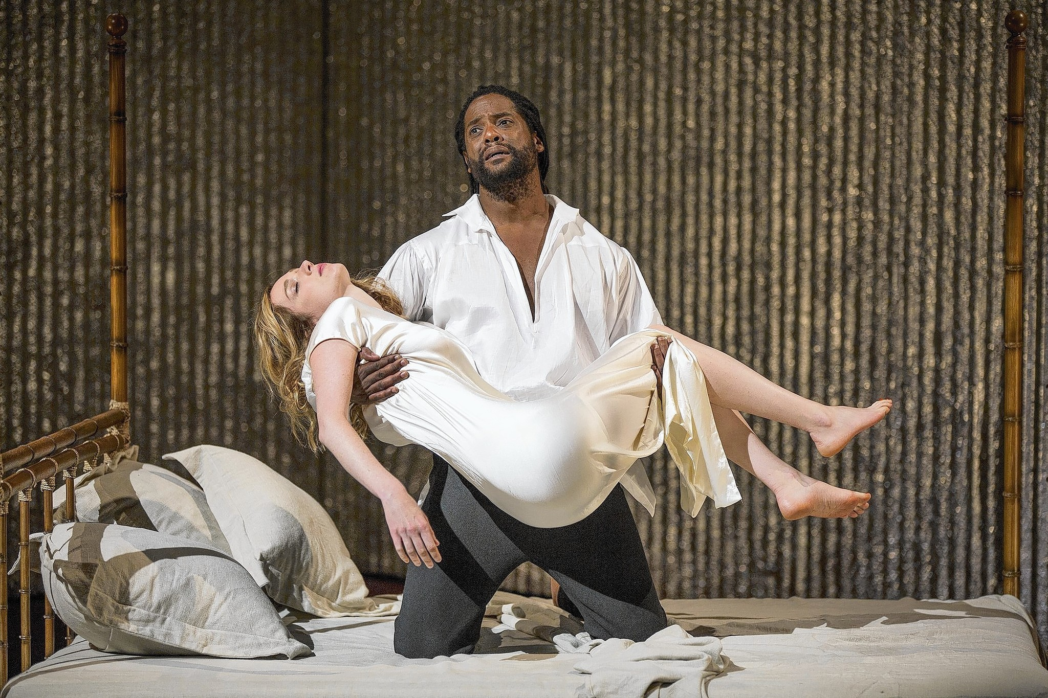 plot of othello Othello has two acting parts of similar leading stature – although the play is named after one protagonist, in fact the other (iago) has more lines thus the 'main plot' is in fact the.