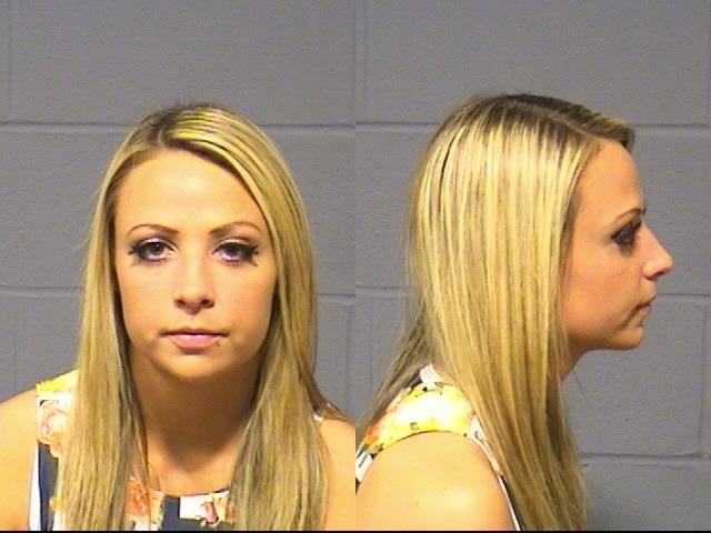 Tenille A. Dashwood, 25, A.K.A. Emma, was arrested by Hartford Police under shoplifting suspicion.