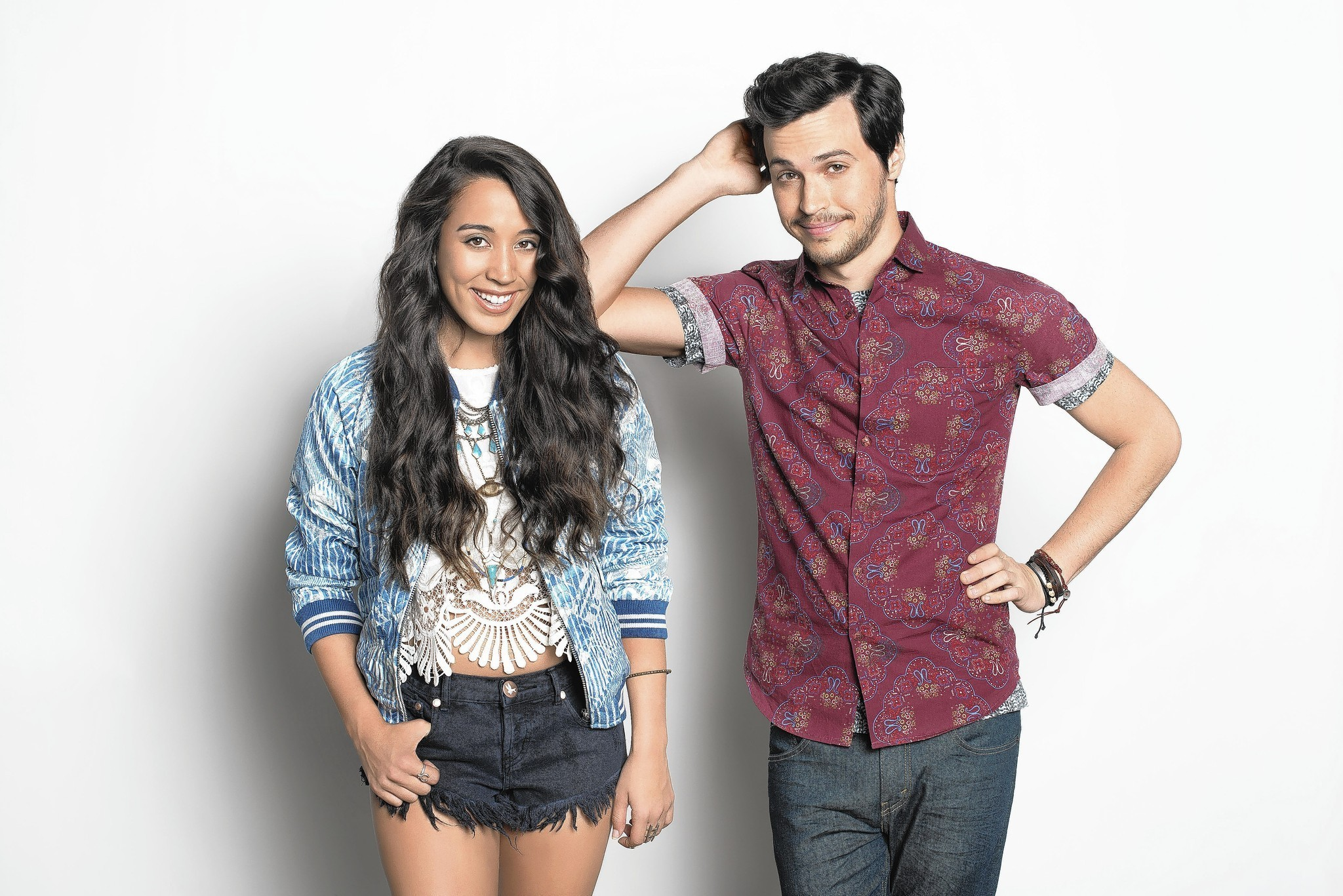 X Factor Winners Alex Amp Sierra Play Red Hot Amp Boom