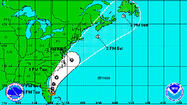 Tropical Storm Arthur looms over Fourth of July celebrations, but expected to stay off shore